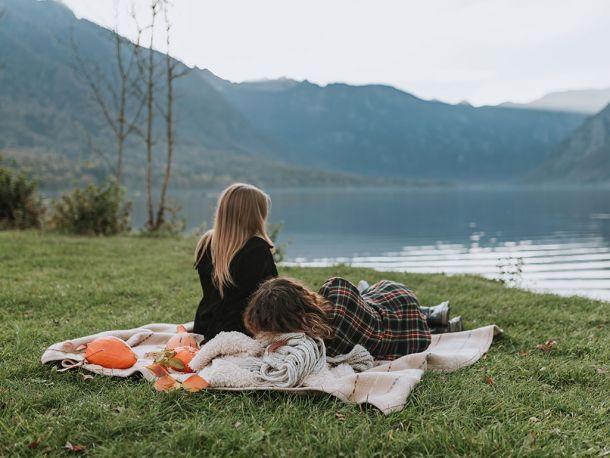 Oddih ob jezeru