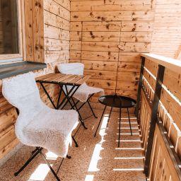 Apartmaji Triglav  Balkon s čudovitim pogledom na jezero in okoliške gore