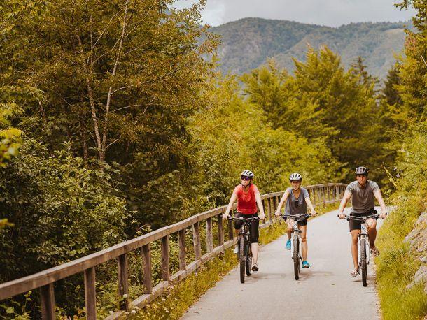 Apartmaji Triglav Bohinj kolesarjenje v naravi